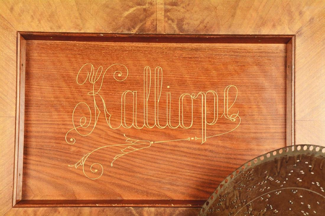 Kalliope Model 107 Music Box. - 4