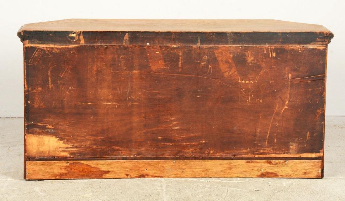 Wood Display Cabinet. - 2