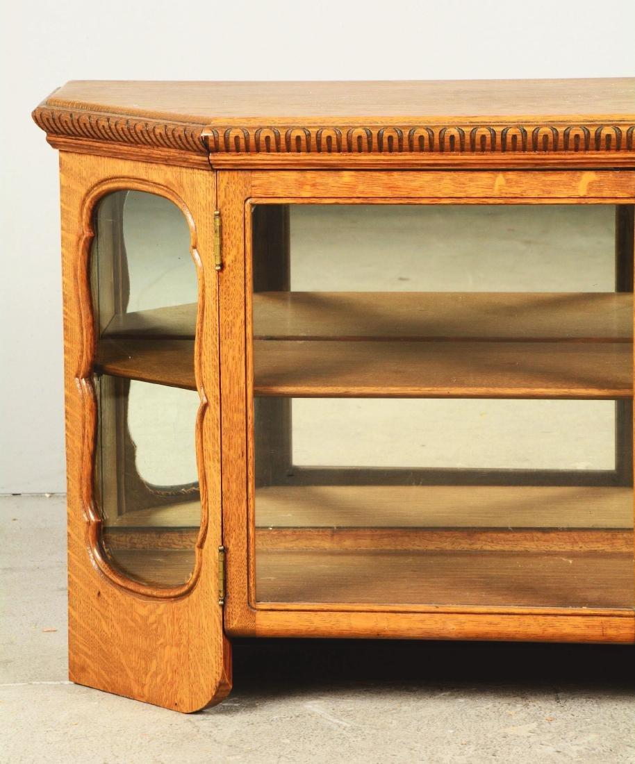 Wood Display Cabinet. - 4