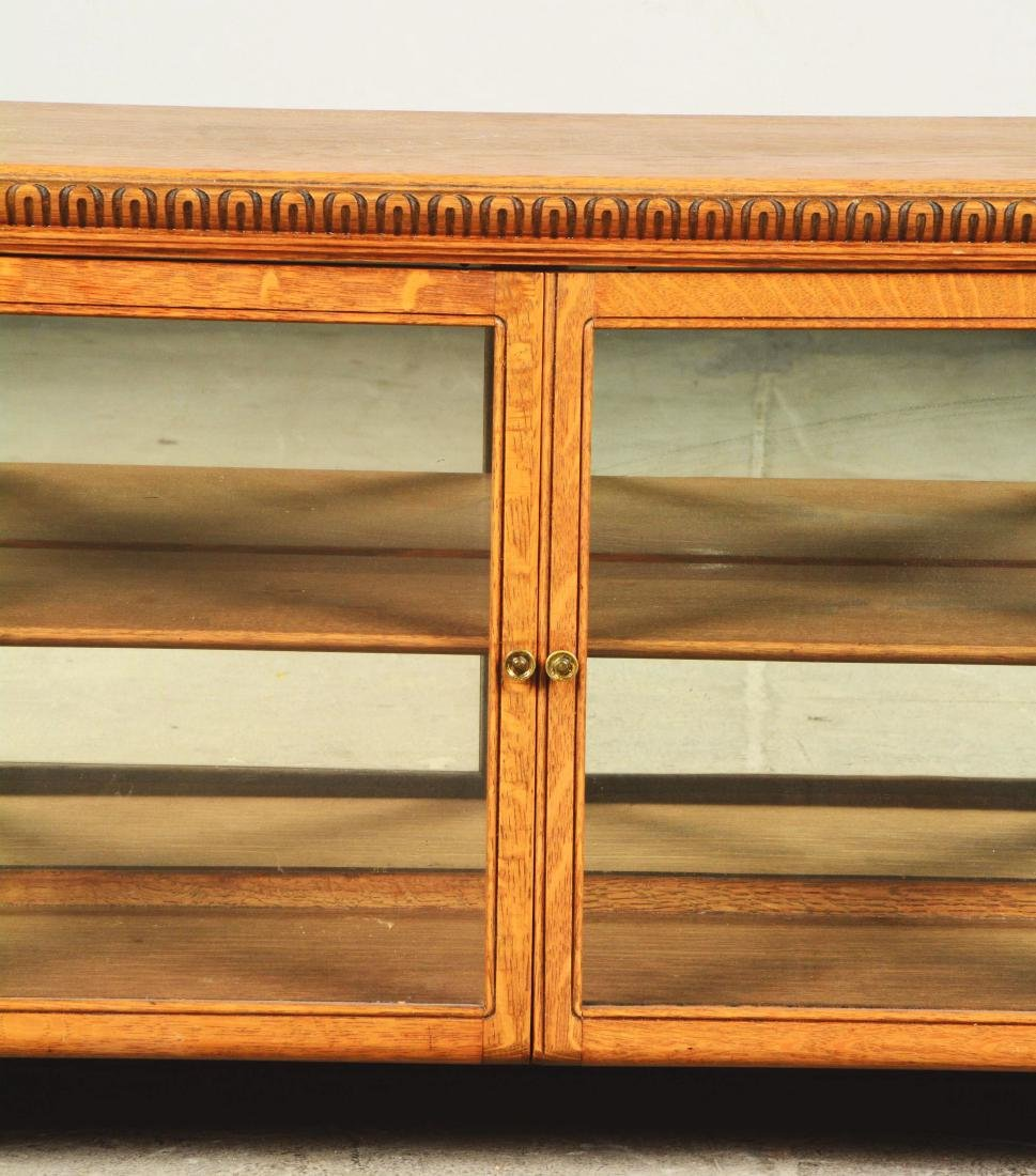 Wood Display Cabinet. - 5