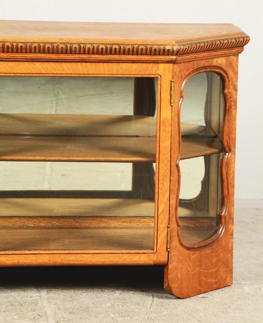 Wood Display Cabinet. - 6