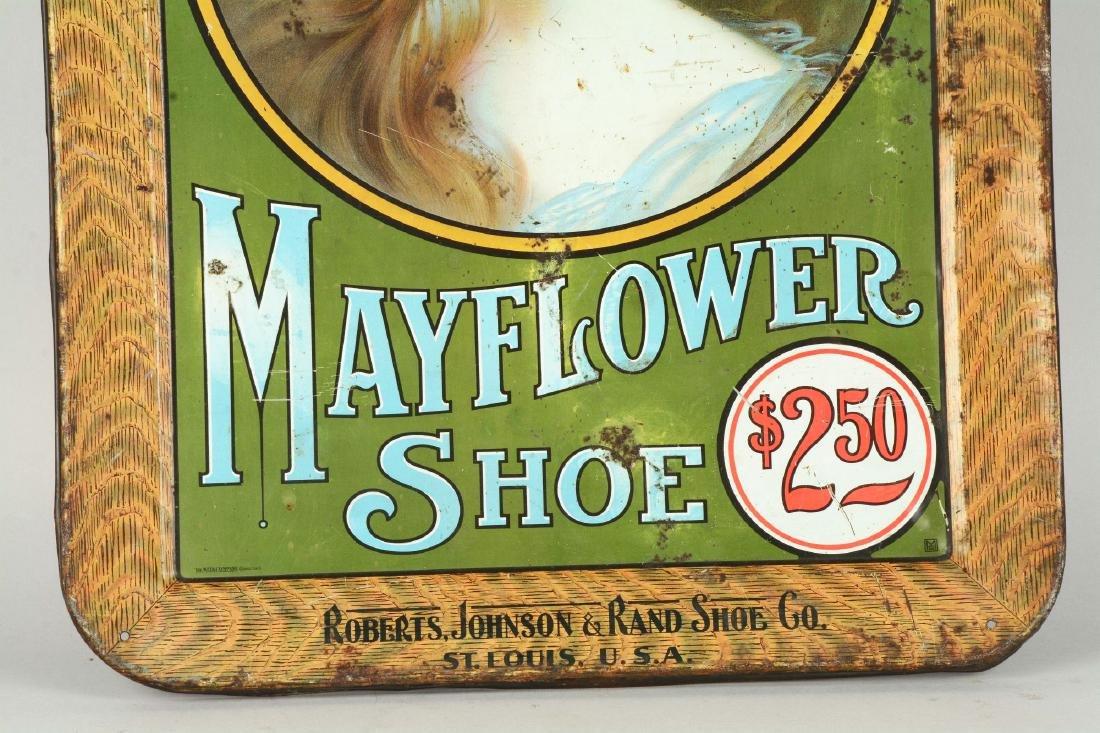 Women's Mayflower Shoe Tin Sign. - 3