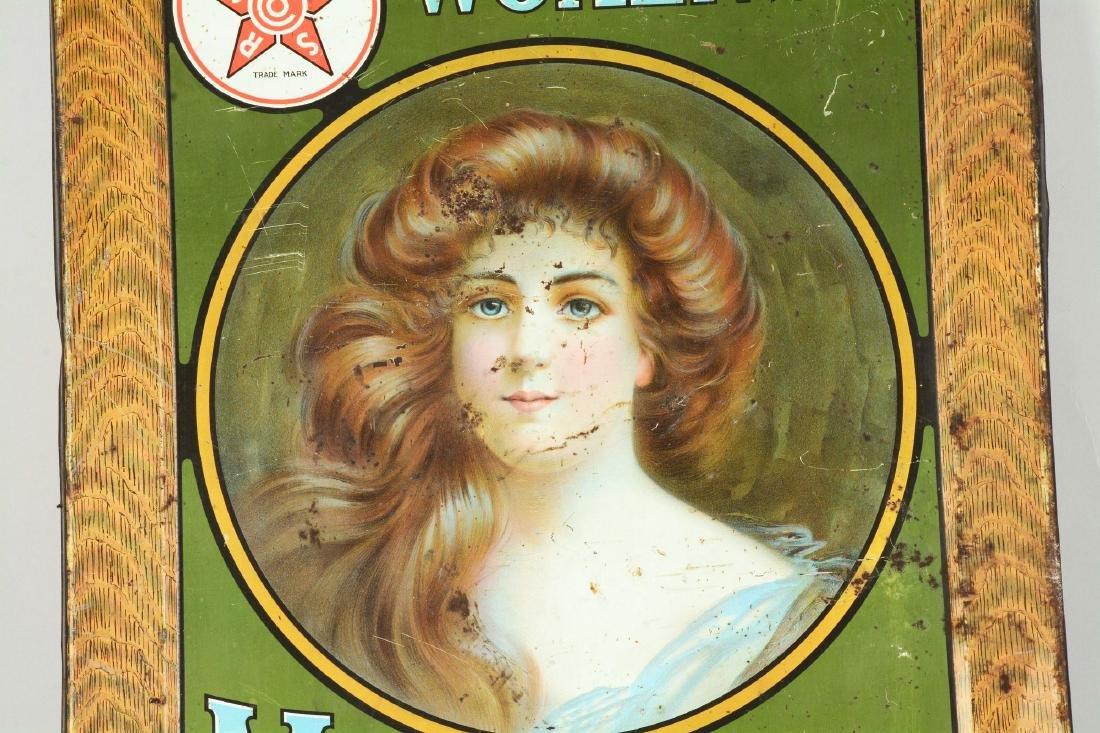 Women's Mayflower Shoe Tin Sign. - 4