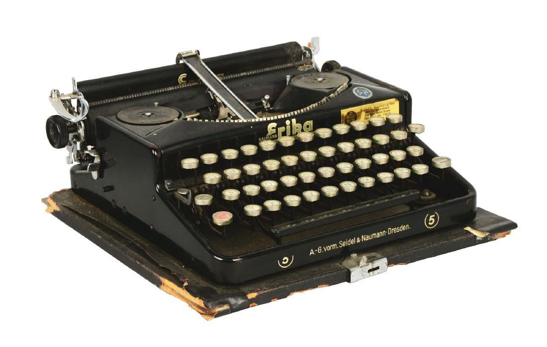Seidal & Nauman Erika No. 5 Typewriter.