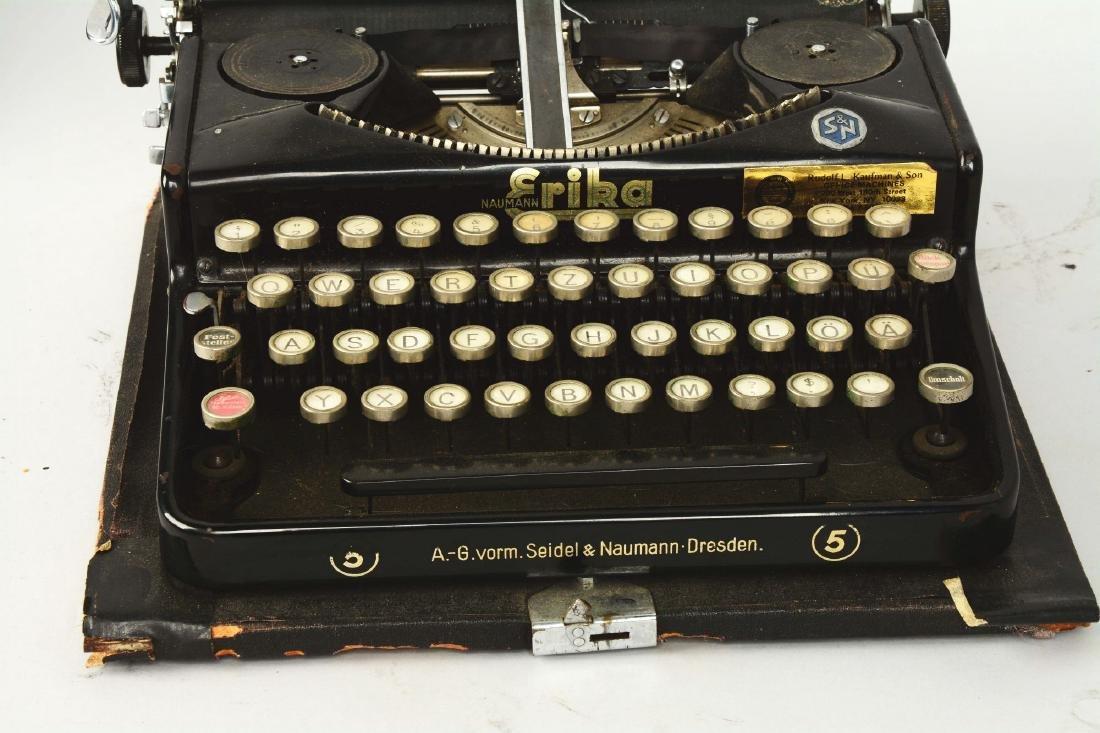 Seidal & Nauman Erika No. 5 Typewriter. - 4