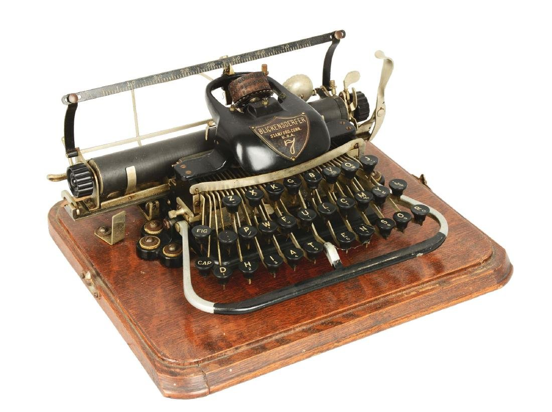 Blickensderfer Model 7 Typewriter.