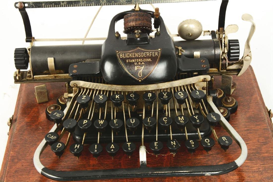 Blickensderfer Model 7 Typewriter. - 3
