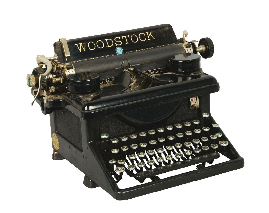 Woodstock No.5 Typewriter.