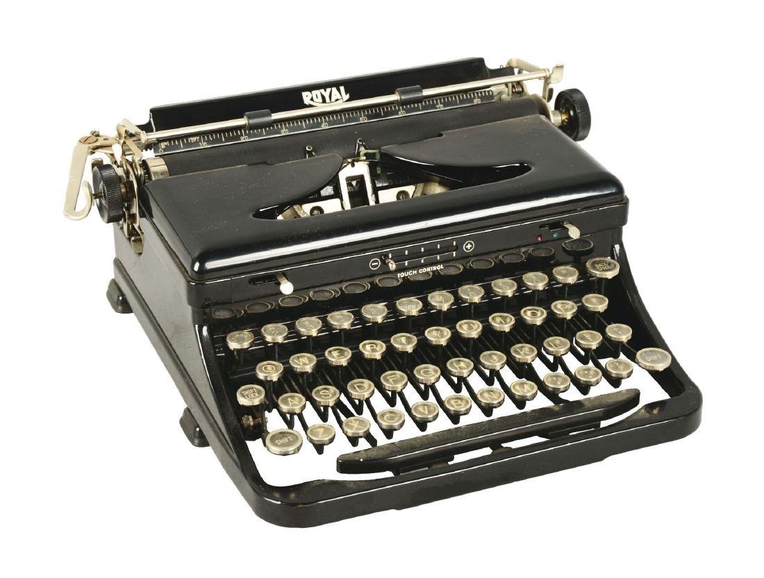 Royal Standard Portable Typewriter.
