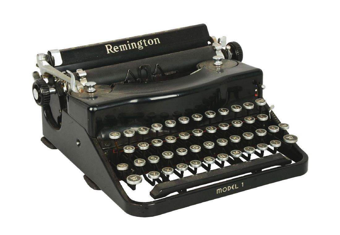 Remington Model 1 Portable Typewriter.
