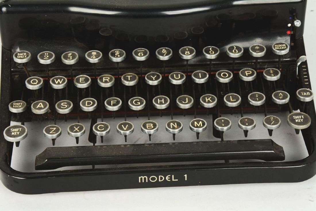 Remington Model 1 Portable Typewriter. - 4