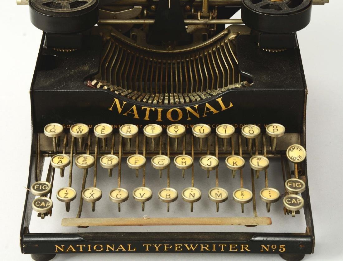 National Combination No. 5 Portable Typewriter. - 3