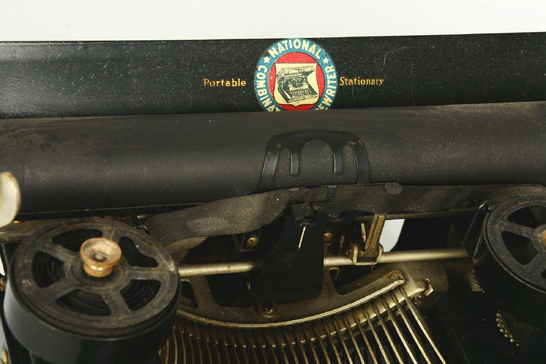 National Combination No. 5 Portable Typewriter. - 4