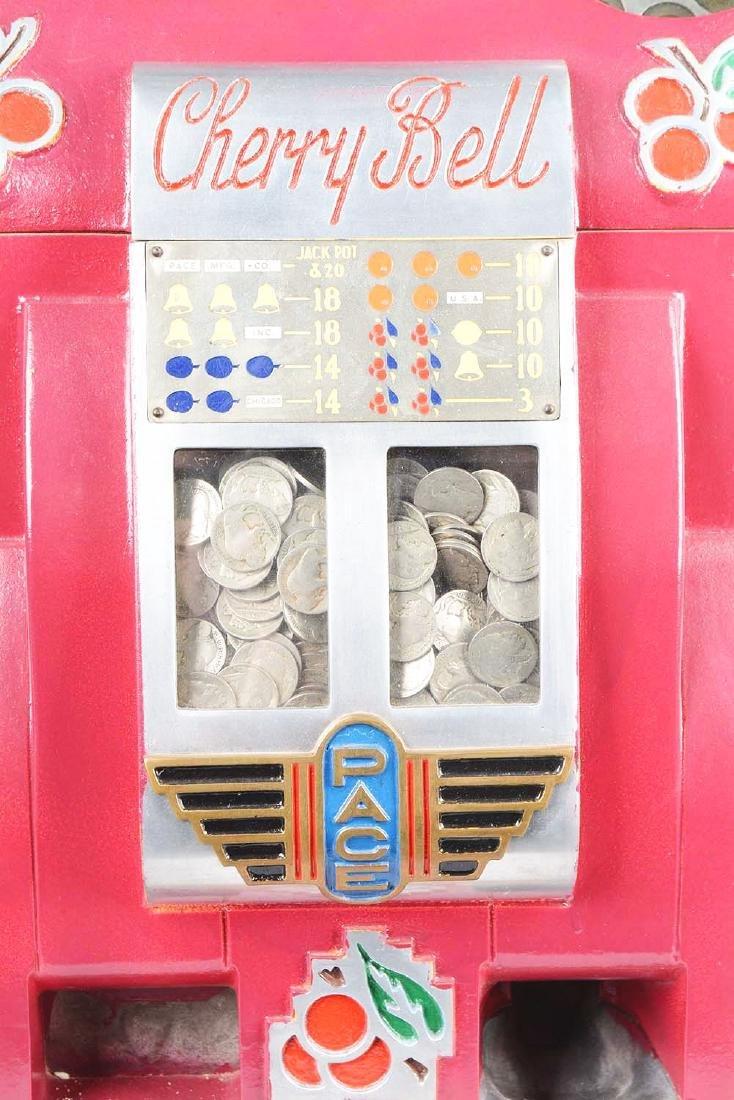 """**5¢ Pace """"Cherry Bell"""" Slot Machine. - 5"""
