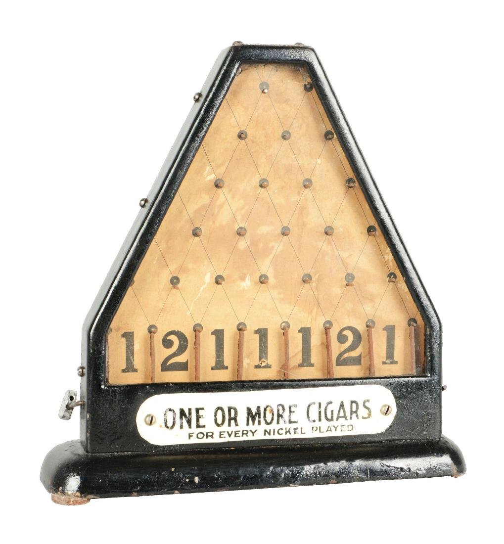 **5¢ Hamilton Daisy Coin Drop Cigar Trade Stimulator.