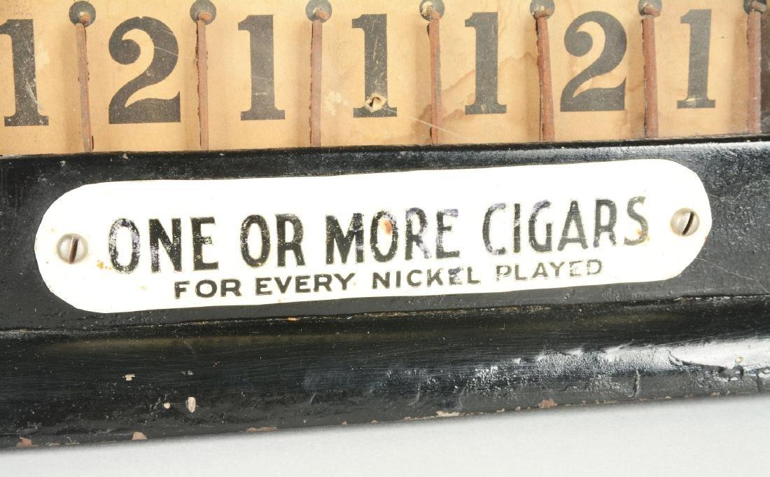 **5¢ Hamilton Daisy Coin Drop Cigar Trade Stimulator. - 3