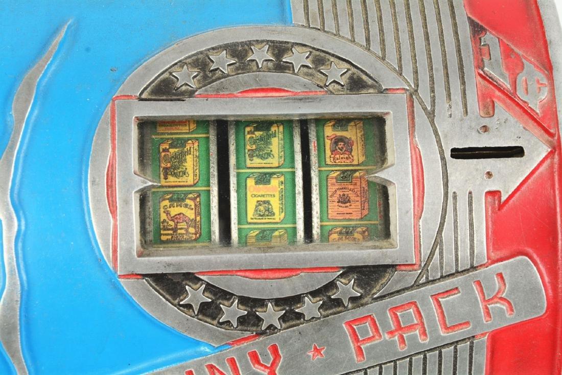 **1¢ Daval Penny Pack Cigarette Trade Stimulator. - 10