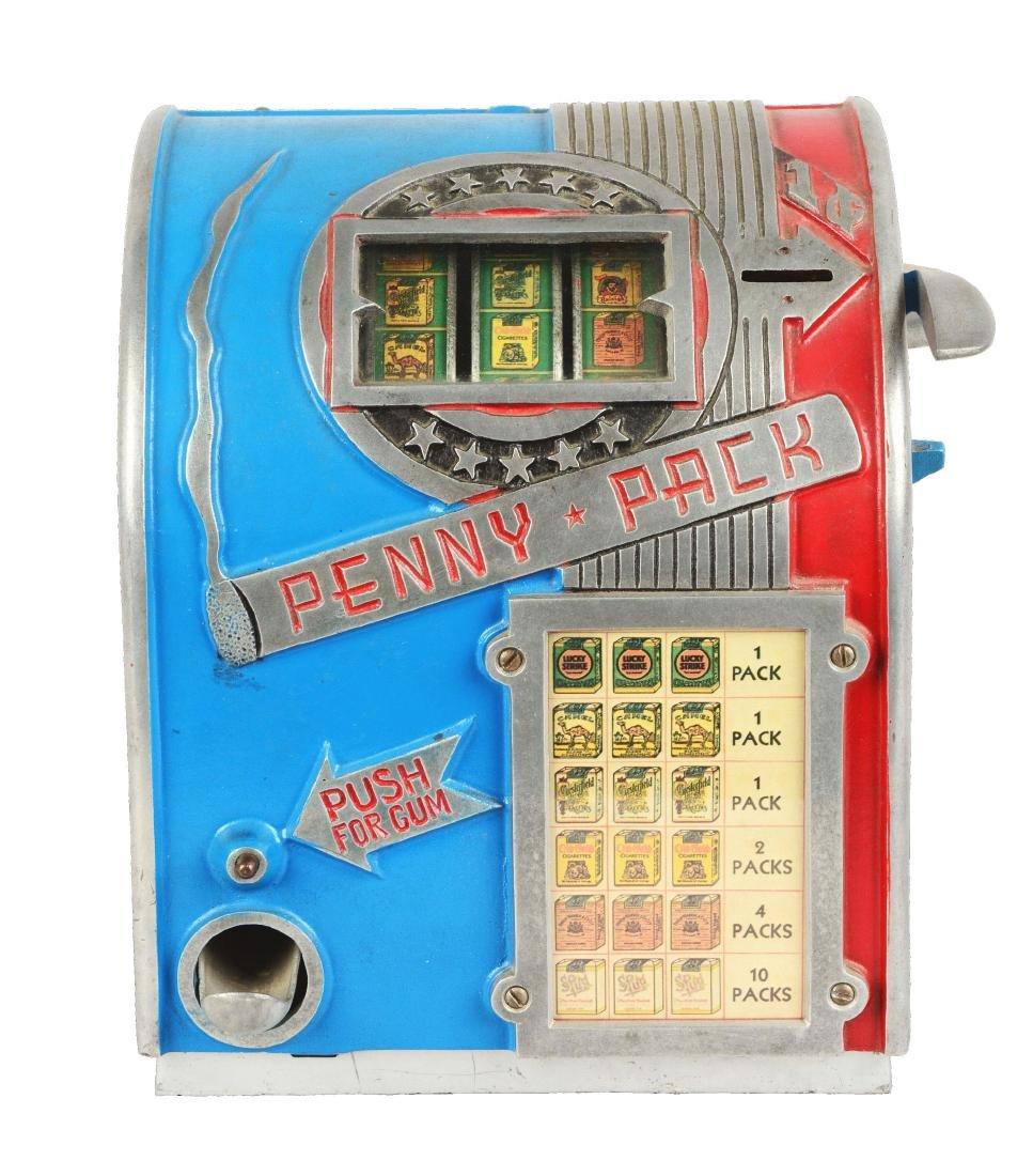 **1¢ Daval Penny Pack Cigarette Trade Stimulator.