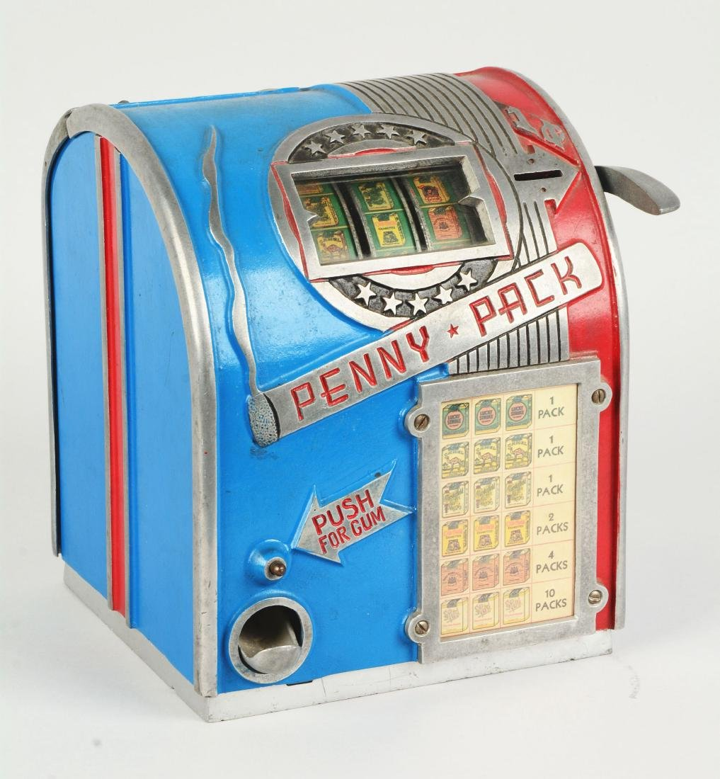 **1¢ Daval Penny Pack Cigarette Trade Stimulator. - 2