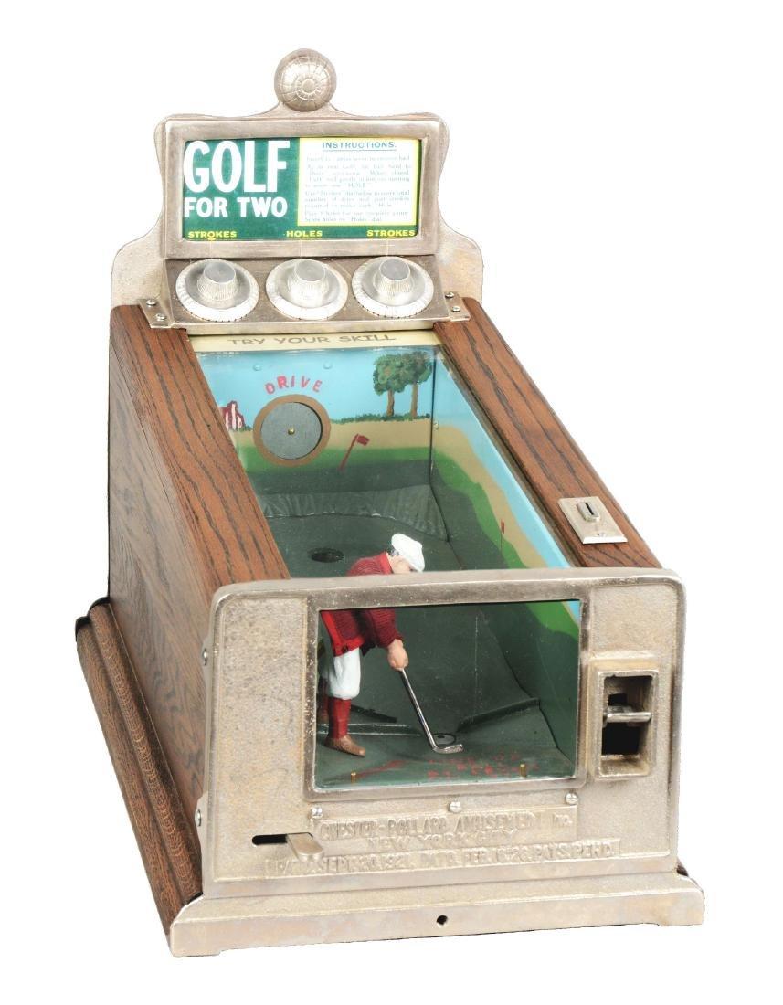 1¢ Chester-Pollard Junior Golf Countertop Arcade