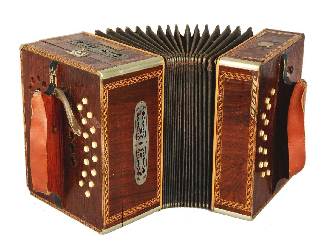 Concertina Tanzbar Automatic Accordion.