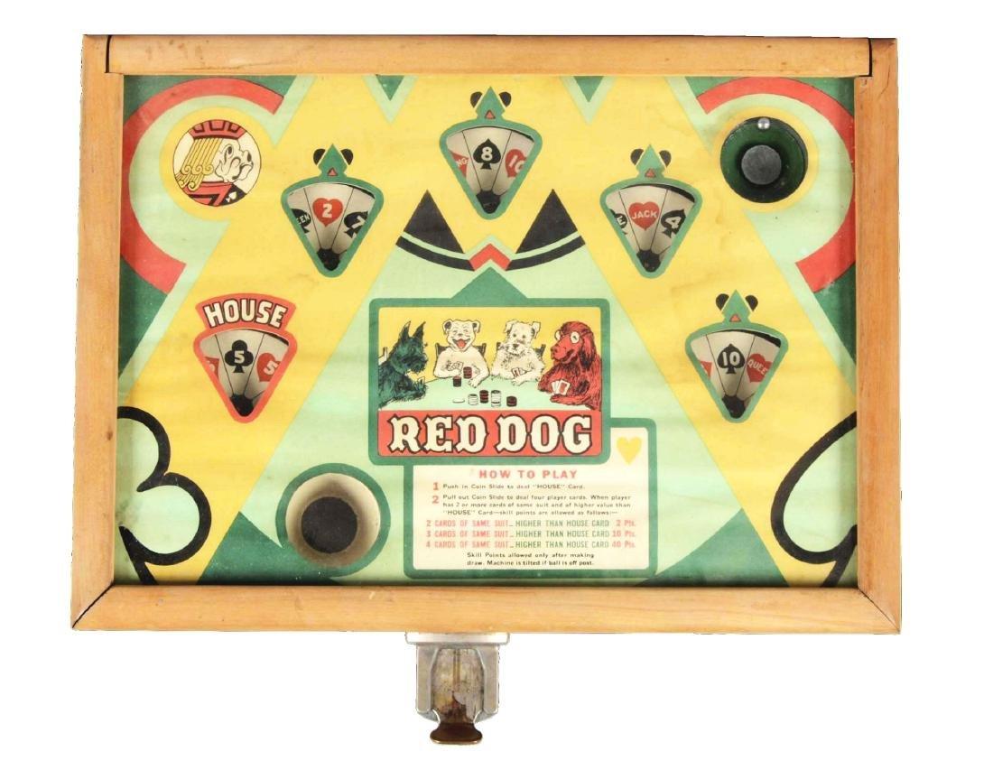 5¢ ESCO Red Dog Countertop Amusement Machine.