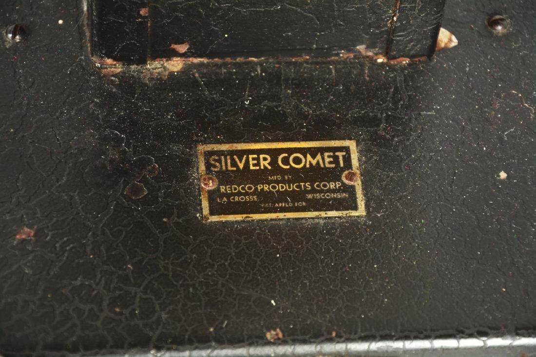 1¢ Redco Silver Comet Gum Vending Machine. - 4