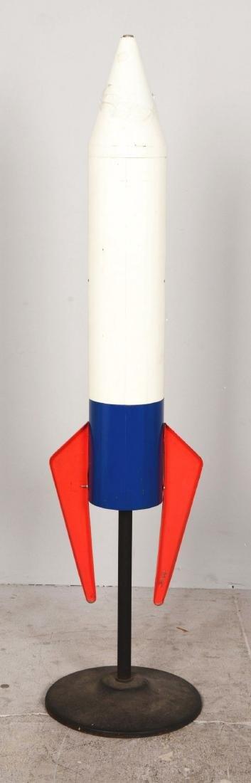 10¢ Northwestern Saturn 2000 Rocket Gum Ball Vending - 3