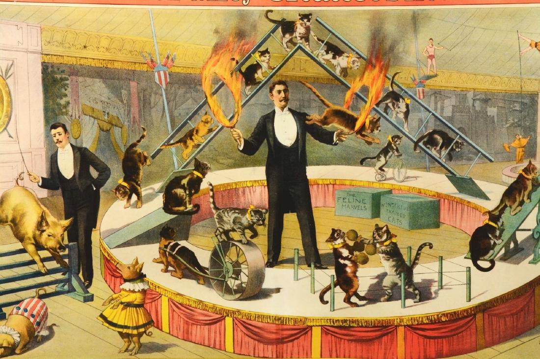 Barnum & Bailey Original Circus Advertising Poster In - 2