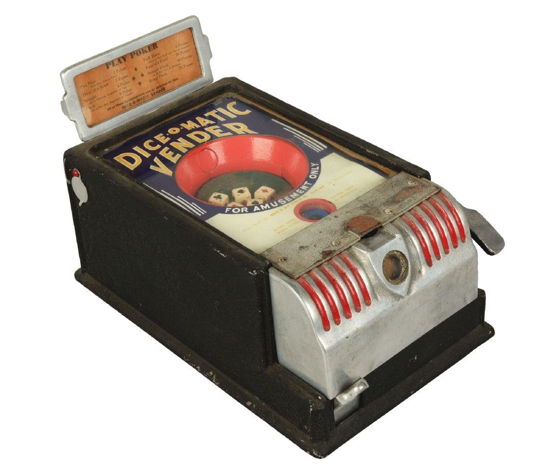 1¢ Groetchen Tool Dice-O-Matic Vendor Trade Stimulator.