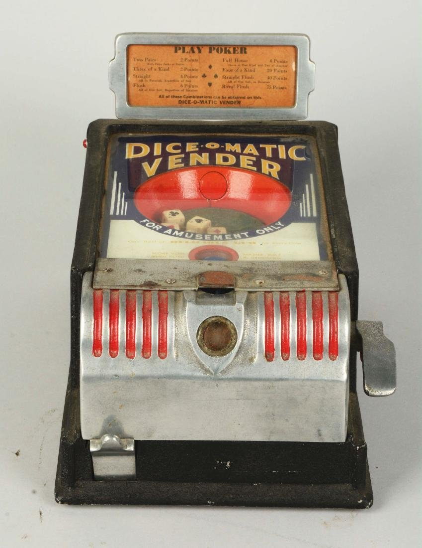 1¢ Groetchen Tool Dice-O-Matic Vendor Trade Stimulator. - 2
