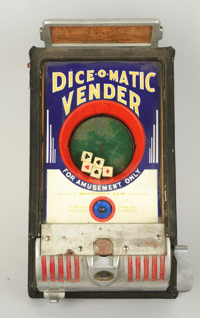 1¢ Groetchen Tool Dice-O-Matic Vendor Trade Stimulator. - 4