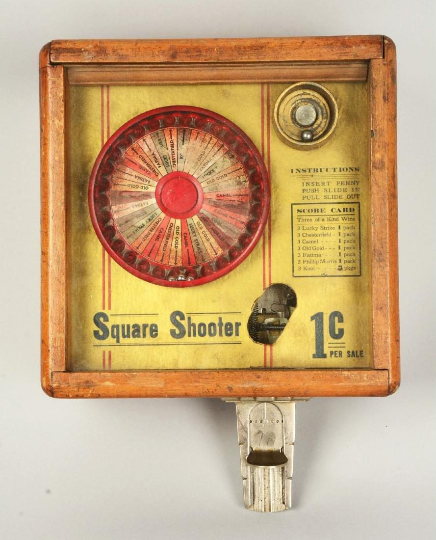 **1¢ Star Mfg. Square Shooter Trade Stimulator. - 3