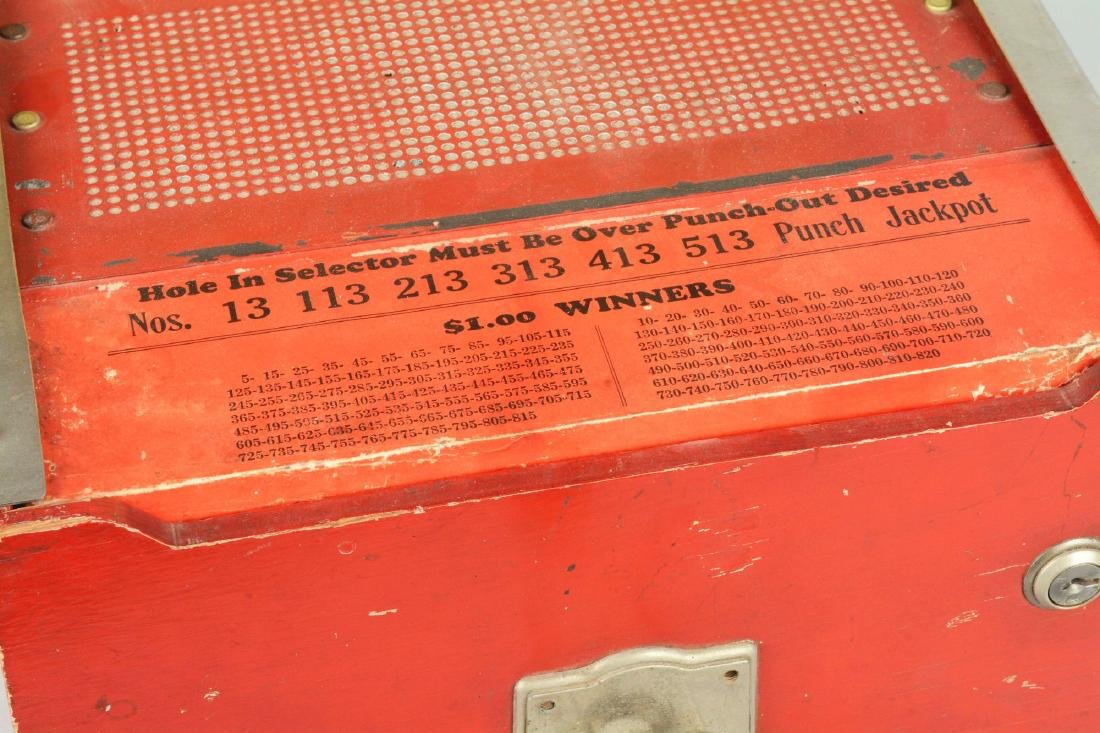 25¢ Jackpot Charley Hole Punch Trade Stimulator. - 4