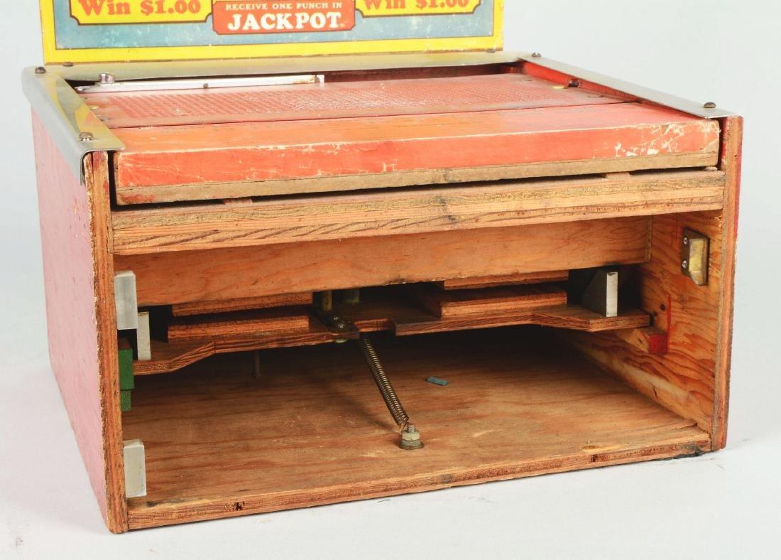 25¢ Jackpot Charley Hole Punch Trade Stimulator. - 5