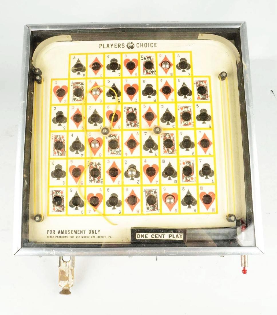 "**1¢ Betco ""Player Choice"" Trade Stimulator. - 5"