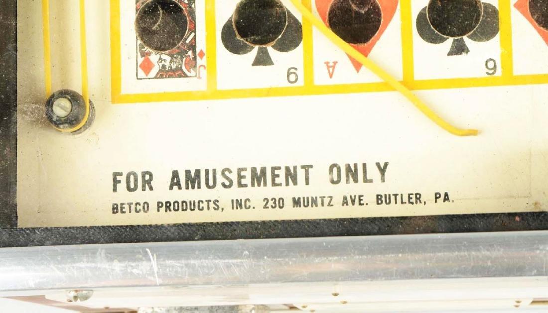 "**1¢ Betco ""Player Choice"" Trade Stimulator. - 6"