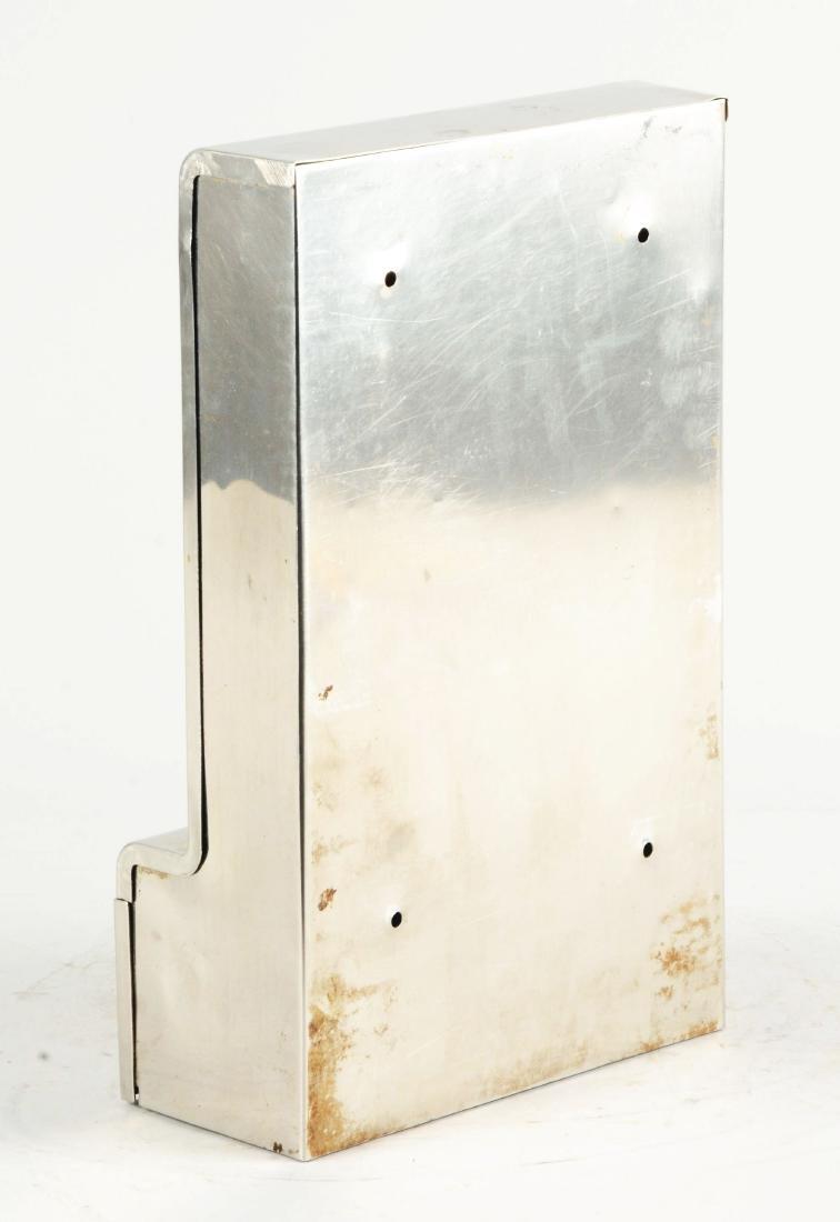 1¢ Mills Tab Gum Wall Mount Vending Machine. - 3