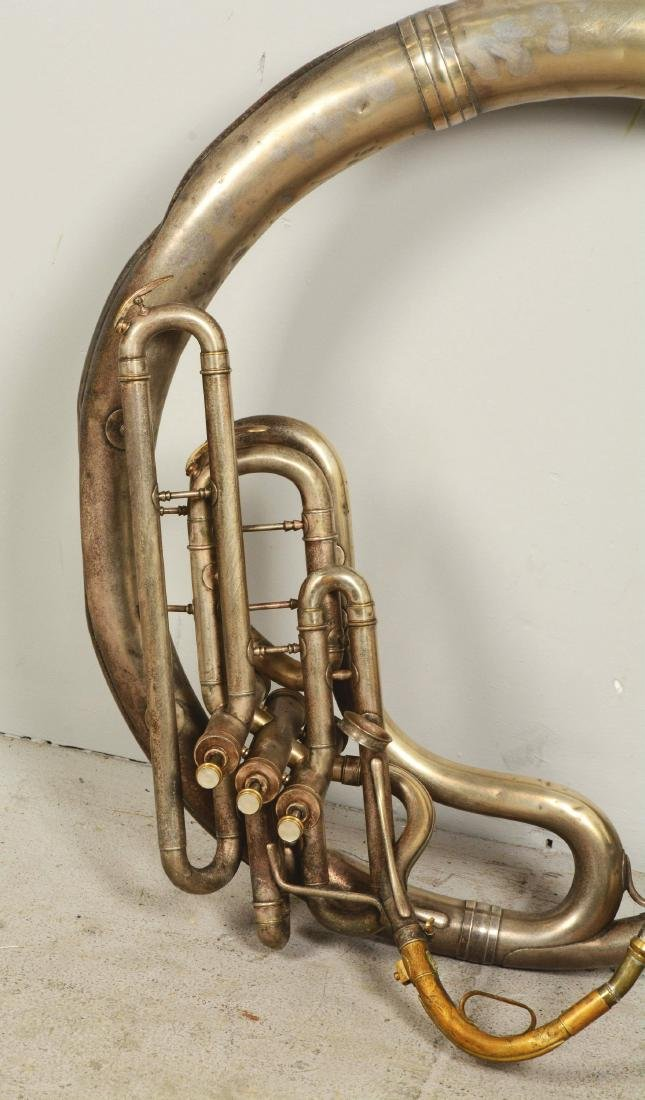 C.G. Conn 26K Sousaphone. - 3