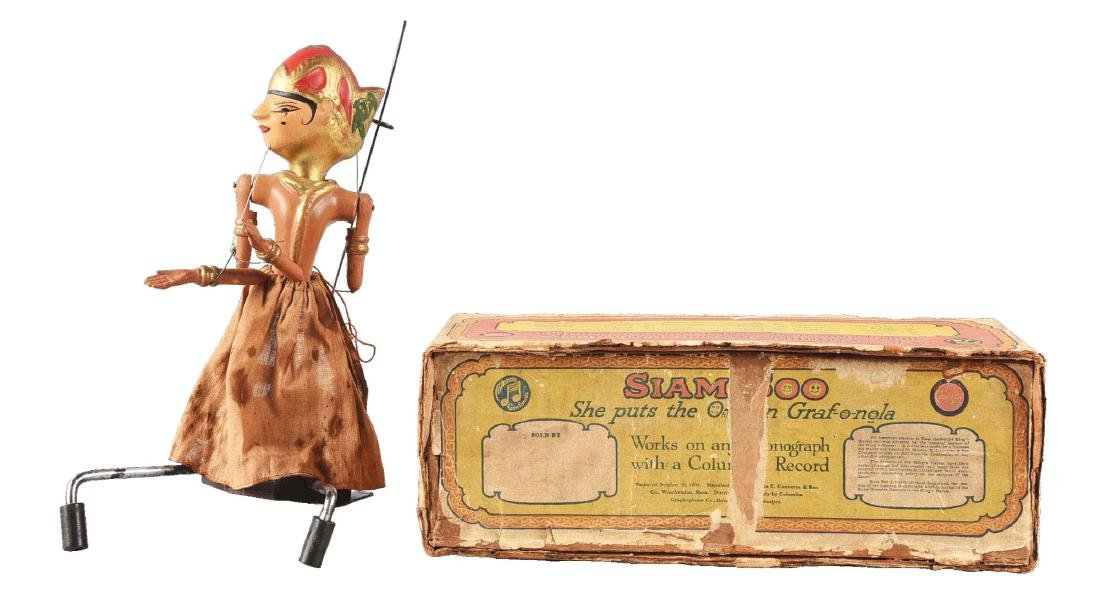 Siam Soo Record Dancing Doll w/ Box.