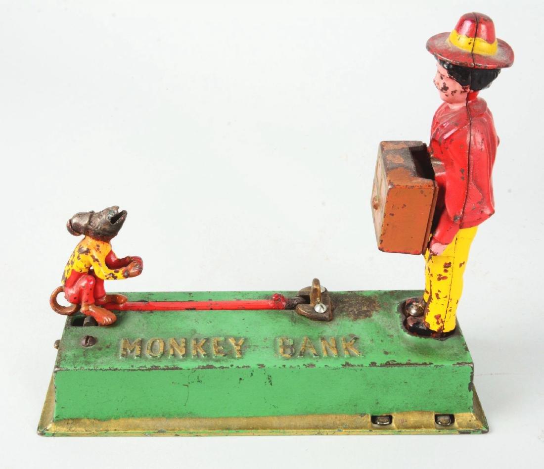 Lot Of 3: Mechanical Banks. - 3