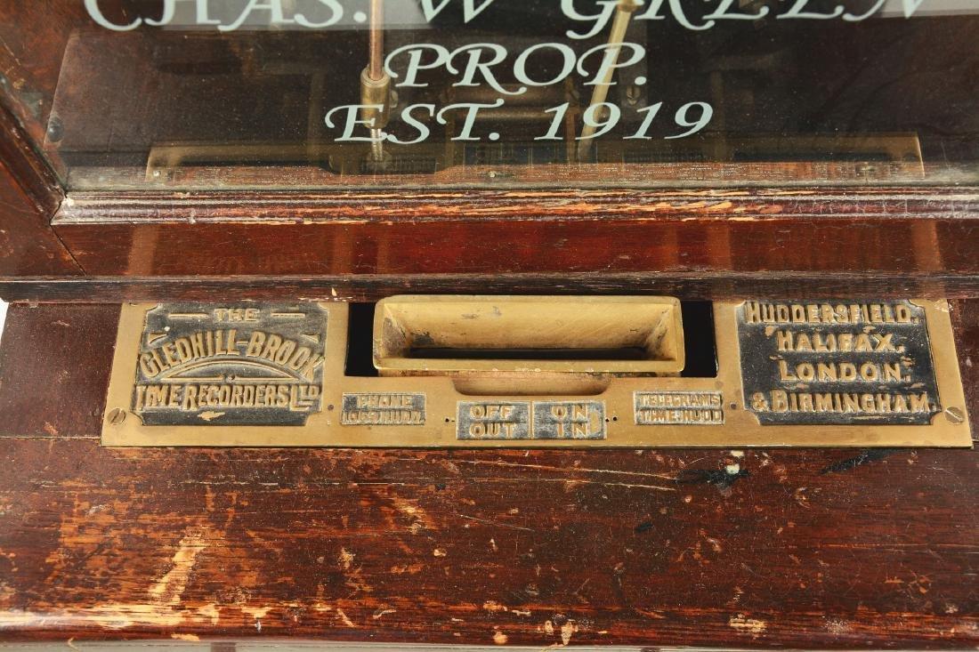 The Gledhill-Brook Time Recorders Coca Cola Time Clock. - 3