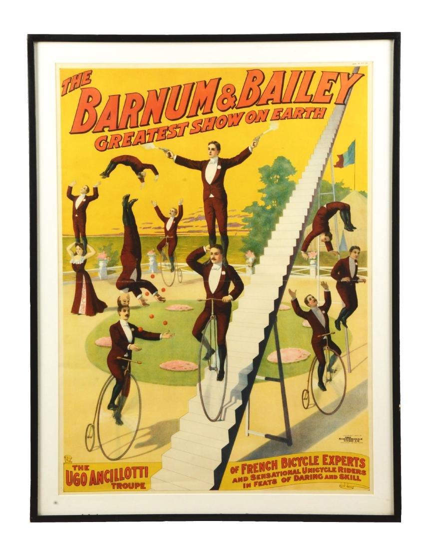 Barnum & Bailey Greatest Show On Earth Poster.