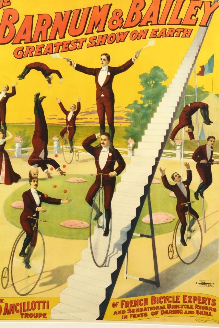 Barnum & Bailey Greatest Show On Earth Poster. - 2