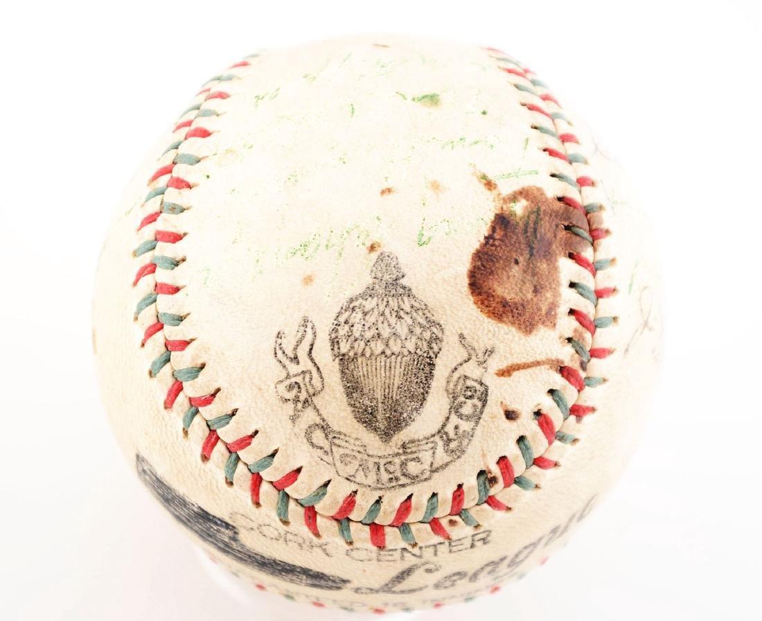 1936-37 World Champion New York Yankees Team Signed - 2