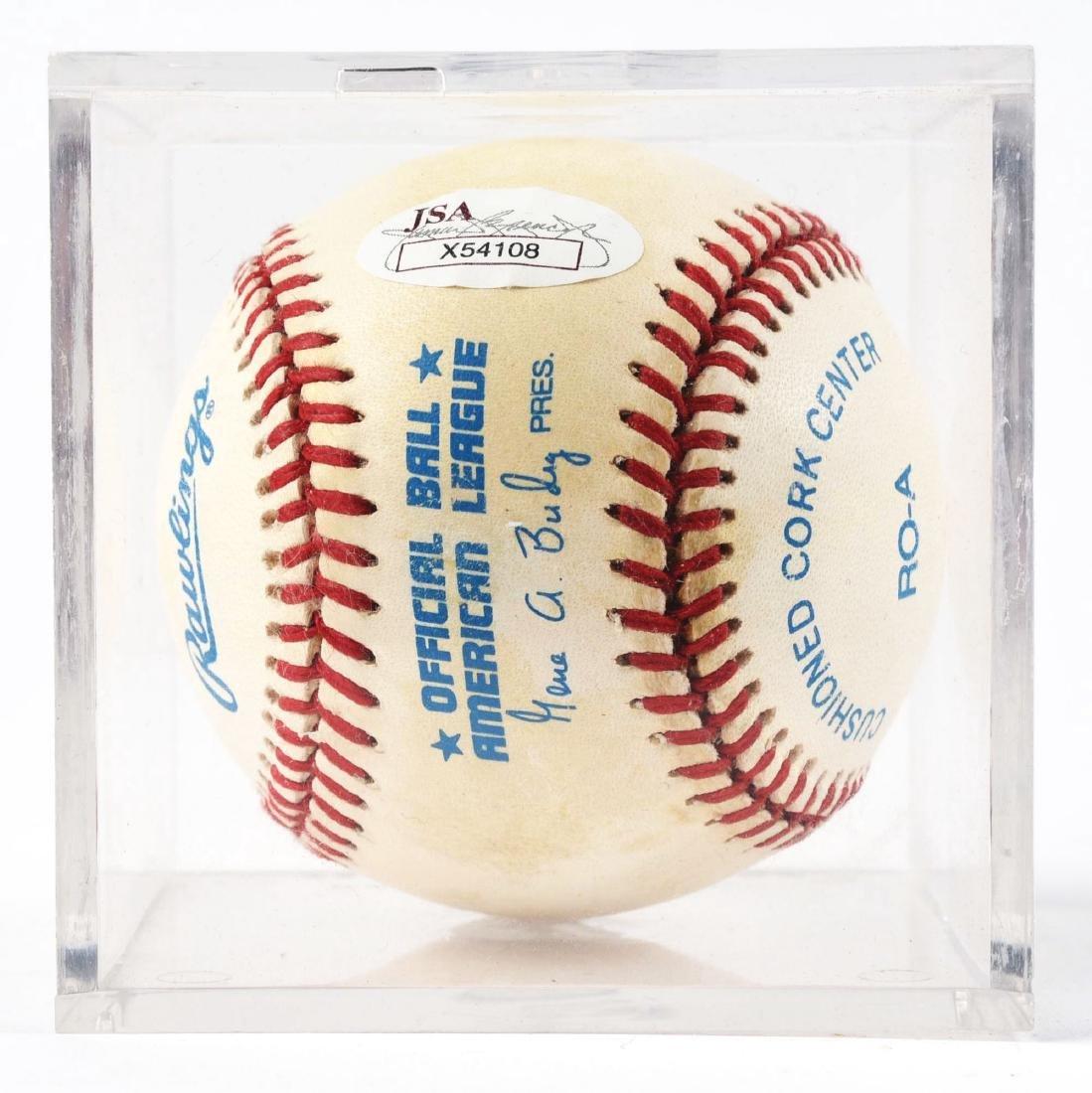 Joe DiMaggio Single Signed Baseball. - 2