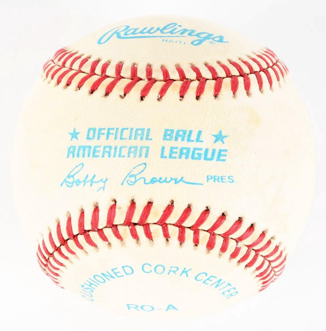 Mickey Mantle and Joe DiMaggio Signed Baseball. - 2