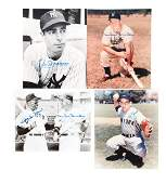 """Lot of 16: 8x10"""" Photo Collection Including DiMaggio,"""