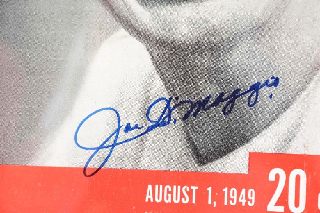 Lot of 3: Mantle, Williams & DiMaggio Signed Life - 4