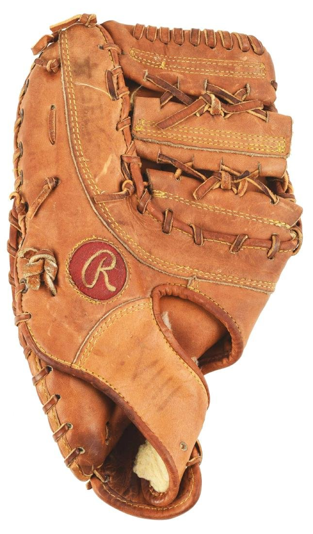 1982 Willie Stargell Game Used First Baseman's Glove.
